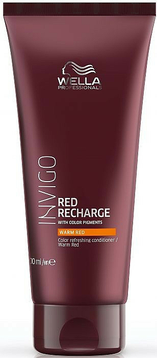 Conditioner for Warm Red and Copper Shades - Wella Professionals Invigo Color Recharge Warm Red Conditioner