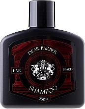 Fragrances, Perfumes, Cosmetics Hair and Beard Care Shampoo - Dear Barber Shampoo