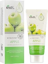 """Fragrances, Perfumes, Cosmetics Facial Peeling Gel """"Apple"""" - Ekel Apple Natural Clean Peeling Gel"""