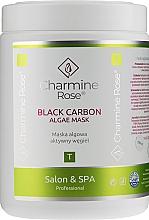 Fragrances, Perfumes, Cosmetics Black Carbon Alginate Face Mask - Charmine Rose Black Carbon Algae Mask