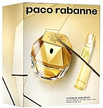 Fragrances, Perfumes, Cosmetics Paco Rabanne Lady Million Traveler Exclusive - Set (edp/80ml + edp/20ml)