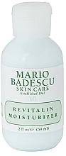 Fragrances, Perfumes, Cosmetics Moisturizing Face Cream - Mario Badescu Revitalin Moisturizer