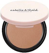 Fragrances, Perfumes, Cosmetics Bronzing Powder - Estelle & Thild BioMineral Healthy Glow Sun Powder (Medium Matte)