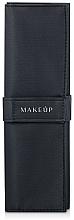 "Fragrances, Perfumes, Cosmetics 5-Piece Makeup Brush Case ""Basic"", black - Makeup"