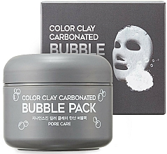 Fragrances, Perfumes, Cosmetics Clay Bubble Face Mask - G9Skin Color Clay Carbonated Bubble Pack