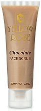 Fragrances, Perfumes, Cosmetics Energizing Chocolate Scrub - Yellow Rose Chocolate Face Scrub