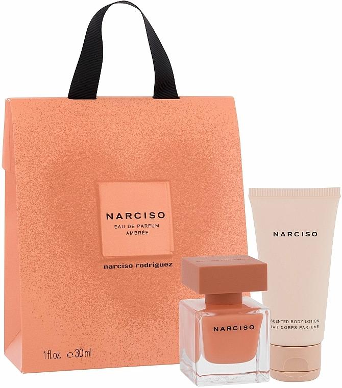 Narciso Rodriguez Narciso Ambree - Set (edp/30ml + b/lot/50ml) — photo N1