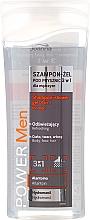 Fragrances, Perfumes, Cosmetics Shampoo-Shower Gel 3in1 - Joanna Power Men Shampoo&ShowerGel