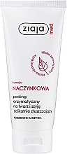 Fragrances, Perfumes, Cosmetics Enzymatic Face Peeling - Ziaja Med Peeling Enzymatic