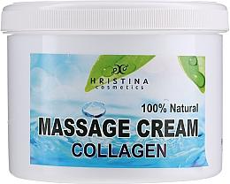 Fragrances, Perfumes, Cosmetics Massage Face & Body Cream - Hristina Cosmetics Collagen Massage Cream