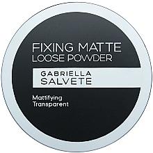 Fragrances, Perfumes, Cosmetics Face Powder - Gabriella Salvete Fixing Matte Loose Transparent Powder