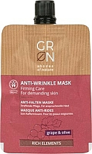 Fragrances, Perfumes, Cosmetics Face Mask - GRN Rich Elements Grape & Olive Cream Mask
