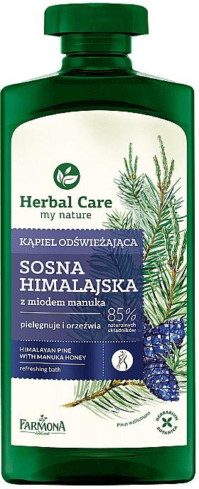 """Bath Milk """"Pine & Honey Manuka"""" - Farmona Herbal Care"""