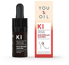 Fragrances, Perfumes, Cosmetics Essential Oil Blend - You & Oil KI-Ear Inflammation Touch Of Welness Essential Oil