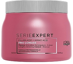 Hair Regrowth Mask - L'Oreal Professionnel Pro Longer Lengths Renewing Masque — photo N3