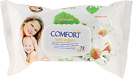 Fragrances, Perfumes, Cosmetics Baby Wet Wipes - Aksan Baby Wet Wipes Pure Chamomile