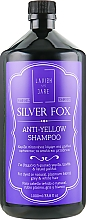 Fragrances, Perfumes, Cosmetics Men Anti-Yellow Hair Shampoo - Lavish Care Silver Fox Anti-Yellow Shampoo