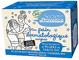 Fragrances, Perfumes, Cosmetics Soap - Secrets De Provence My Ultra Rich Dermatological Cleansing Bar