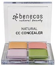 Fragrances, Perfumes, Cosmetics Facial Concealer Palette - Benecos Natural CC Concealer