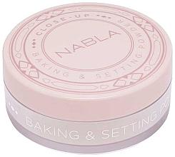 Fragrances, Perfumes, Cosmetics Loose Powder - Nabla Close-Up Baking Setting Powder