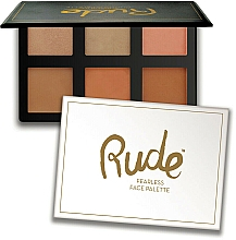 Fragrances, Perfumes, Cosmetics Contour Palette - Rude Fearless Face Palette