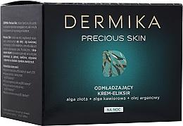 Fragrances, Perfumes, Cosmetics Rejuvenating Night Face Cream-Elixir - Dermika Precious Skin Rejuvenating night Cream-Elixir