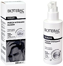 Fragrances, Perfumes, Cosmetics Anti Hair Loss Serum - Biotebal Men Serum