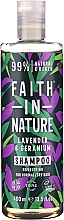 Fragrances, Perfumes, Cosmetics Shampoo for Normal and Dry Hair 'Lavender and Geranium' - Faith In Nature Lavender & Geranium Shampoo