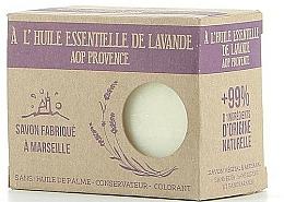 Fragrances, Perfumes, Cosmetics Marseilles Soap with Lavander Oil - Foufour Savon A l'Huile Essentielle de Lavande AOP Provence