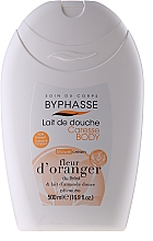 Fragrances, Perfumes, Cosmetics Shower Cream - Byphasse Caresse Shower Cream Orange Blossom