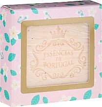 "Fragrances, Perfumes, Cosmetics Scrub-Soap ""Jasmine"" - Essencias De Portugal Jasmine With Rosehip Scrub Aromatic Soap"