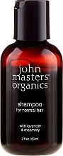 "Fragrances, Perfumes, Cosmetics Shampoo ""Lavender and Rosemary"" - John Masters Organics Lavender Rosemary Shampoo (mini size)"