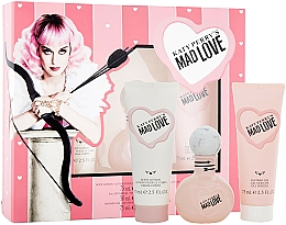Fragrances, Perfumes, Cosmetics Katy Perry Katy Perry's Mad Love - Set (edp/50ml + b/lotion/75ml + sh/gel/75ml)