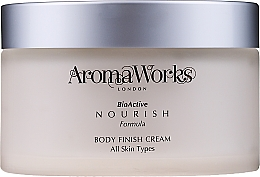 Fragrances, Perfumes, Cosmetics Body Cream - AromaWorks Body Finish Cream