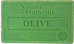 "Fragrances, Perfumes, Cosmetics Natural Soap ""Olive"" - Le Chatelard 1802 Soap Olive"