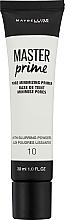 Fragrances, Perfumes, Cosmetics Corrrecting Makeup Primer - Maybelline Master Prime 10 Pore Minimizing