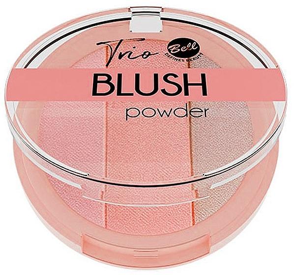 Compact Blush - Bell Trio Blush Powder