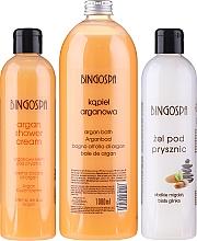 Fragrances, Perfumes, Cosmetics Set - BingoSpa (sh/cr/300ml + show/gel/300ml + bubble bath/1000ml)