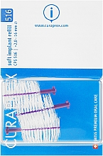 Fragrances, Perfumes, Cosmetics Interdental Brush Set for Implants, CPS 516, 3pcs - Curaprox Soft Implant