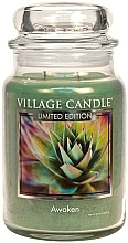 Fragrances, Perfumes, Cosmetics Scented Candle in Glass Jar - Village Candle Sea Awaken Candle