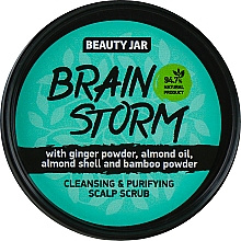 "Fragrances, Perfumes, Cosmetics Cleansing Scalp Scrub ""Brain Storm"" - Beauty Jar Cleansing & Purifying Scalp Scrub"