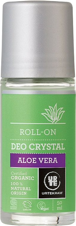 """Roll-On Deodorant """"Aloe Vera"""" - Urtekram Deo Crystal Aloe Vera"""