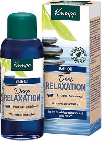 Patchouli & Sandalwood Bath Oil - Kneipp Deep Relaxation Patchouli & Sandalwood — photo N1