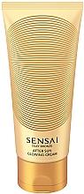 Fragrances, Perfumes, Cosmetics Glowing Body Cream - Kanebo Sensai Silky Bronze After Sun Glowing Cream
