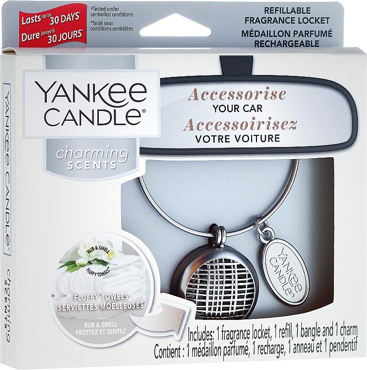Car Air Freshener - Yankee Candle Fluffy Towels Linear