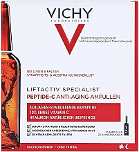 Fragrances, Perfumes, Cosmetics Ampoule Anti-Aging Concentrate for Face Skin - Vichy LiftActiv Specialist Peptide-C