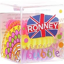 Fragrances, Perfumes, Cosmetics Hair Ring, 3,5 cm - Ronney Professional S6 MAT