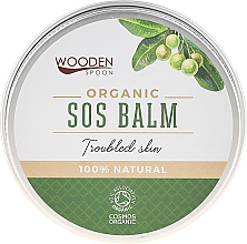 Fragrances, Perfumes, Cosmetics Body Balm - Wooden Spoon SOS Balm Trouble Skin