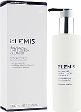 Fragrances, Perfumes, Cosmetics Cleansing Milk - Elemis Balancing Lime Blossom Cleanser