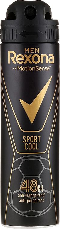 Men Antiperspirant Deodorant - Rexona Men MotionSense Sport Cool Anti-perspirant
